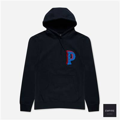 PARRA DROPPED OUT HOODED - Navy Blue
