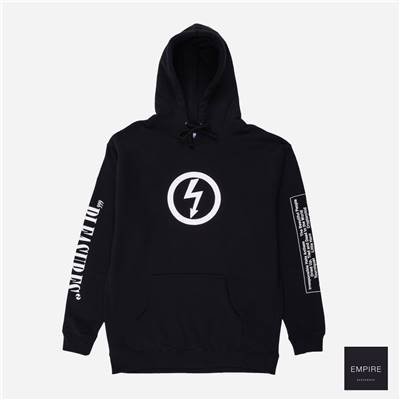 PLEASURE x MARILYN MANSON ANTICHRIST HOODY TEE - Black
