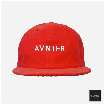 AVNIER 6 PANELS HAT - Red JO 2020