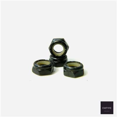SKATE CREW AXLE NUTS - Black