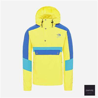 THE NORTH FACE 90 EXTREME WIND ANORAK - Lemon Combo