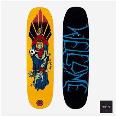 WELCOME SKATEBOARDS ''FUTBOL ON MOONTRIMER'' 2.0 8.5 - Gold
