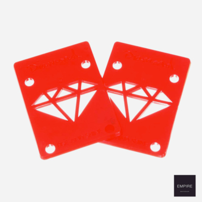 DIAMOND RISE AND SHINE RISER PADS SOFT - Red