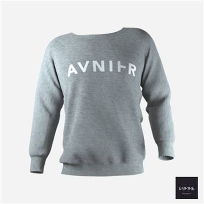 AVNIER BASIC CREWNECK - Grey