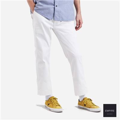 LEVI'S SKATEBOARDING WORK PANT - Bright white twill