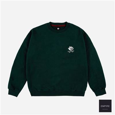 MAGENTA CRUISE CREWNECK - Green