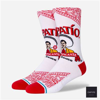 STANCE TAPATIO - White