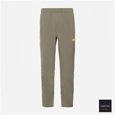 THE NORTH FACE TECH WOVEN PANT - New Taupe Green Zinnia Orange