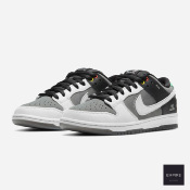 NIKE SB DUNK LOW PRO - Smoke Grey Pure Platinum Off Noir