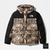 THE NORTH FACE HIMALAYAN DOWN PARKA - Kelp Tan Forest Floor Print