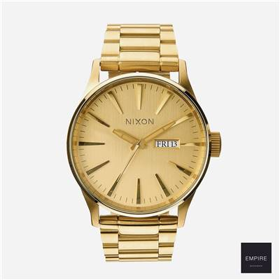 NIXON THE SENTRY SS - All gold