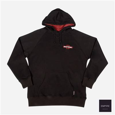 INDEPENDENT ARRAY RAGLAN HOOD - Black