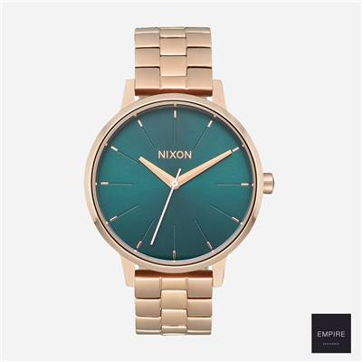 NIXON KENSINGTON - All rose gold emerald