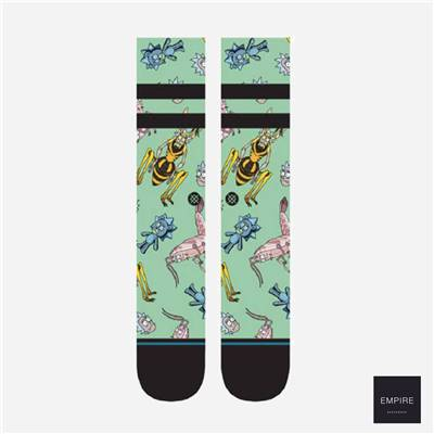 STANCE x RICK AND MORTY REBOOT RICK - Green