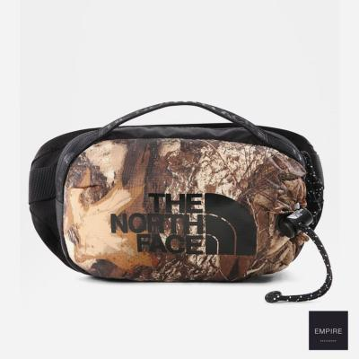 THE NORTH FACE BOZER HIP PACK III S- Kelp Tan Forest Floor Print Tnf Black