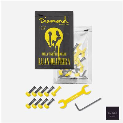 DIAMOND LUAN OLIVEIRA PRO HARDWARE 7/8'' - Yellow