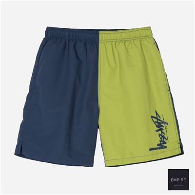 STUSSY PANEL WATER SHORT - Navy