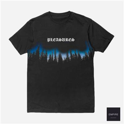 PLEASURES FOREST TEE SHIRT - Black
