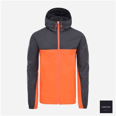 THE NORTH FACE 1990 MOUNTAIN Q JACKET - Tangerine Tango TNF Black