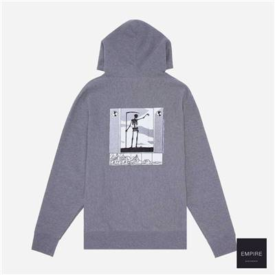 FUCKING AWESOME GRIM REAPER HOODIE - Gunmetal