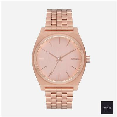 NIXON THE TIME TELLER - All rose gold