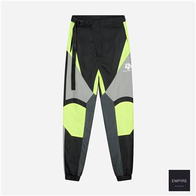 DAILY PAPER GIRT PANT - Black Neon