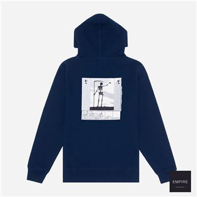 FUCKING AWESOME GRIM REAPER HOODIE - Navy