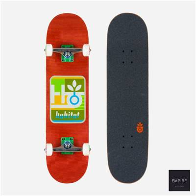 HABITAT SKATEBOARDS ''MOD PROD'' COMPLETE RED 7.875