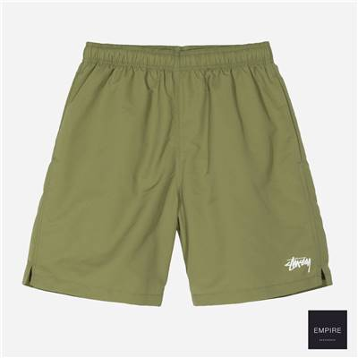 STUSSY STOCK WATER SHORT - Green