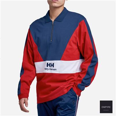HELLY HANSEN URBAN 1/2 RUGGER - Red