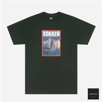 HOCKEY NIK STAIN TEE - Forest Green