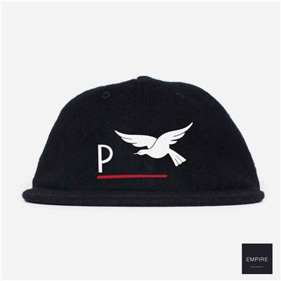 PARRA SURPRISED 6 PANNEL HAT - Black