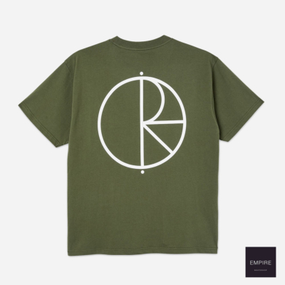 POLAR STROKE LOGO TEE UNIFORM GREEN