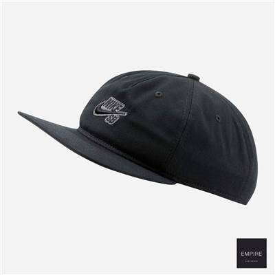 NIKE SB SNAPBACK - Black Anthracite Black