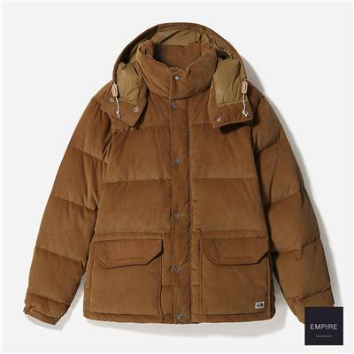 THE NORTH FACE SIERRA DOWN CORD PARKA - Utility Brown