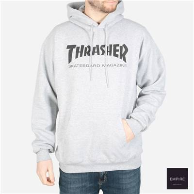 THRASHER SKATE MAG HOODY - Heather