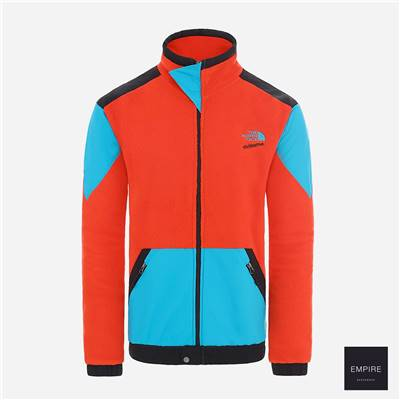 THE NORTH FACE 92 EXTREME FLEECE FULL ZIP JACKET - Fiery Red Combo