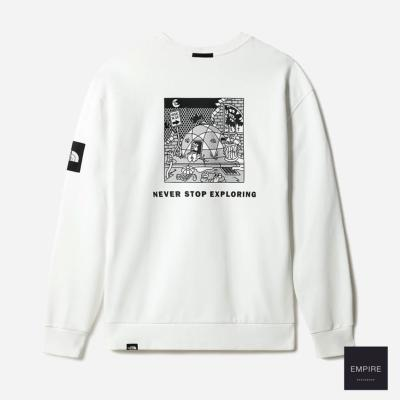THE NORTH FACE BLACKBOX CREW TNF WHITE - TNF White