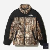 THE NORTH FACE HIMALAYAN INS JACKET - Kelp Tan Forest Floor Print