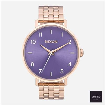 NIXON ARROW - Rose Gold Purple