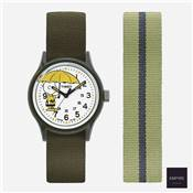 TIMEX MK1 x PEANUTS CHARLIE BROWN 36 - Green White