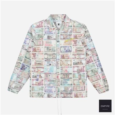 DAILY PAPER COACH 1 JACKET - All over print