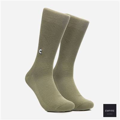 CHRYSTIE NEW YORK CASUAL SOCKS - Military