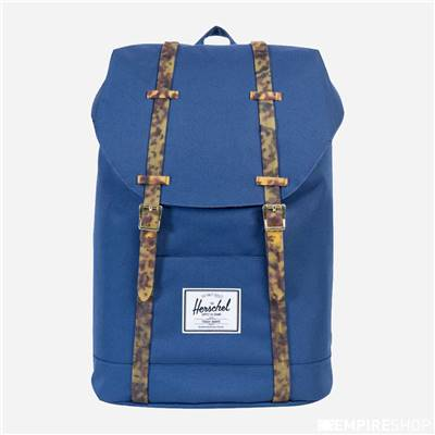 HERSCHEL RETREAT - Twilight Blue Tortoise Shell Rubber