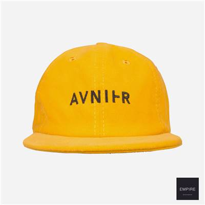 AVNIER 6 PANELS HAT - Dark Orange