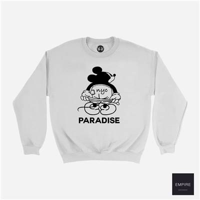 PARADIS3 MICKEY MOON CREW - Grey