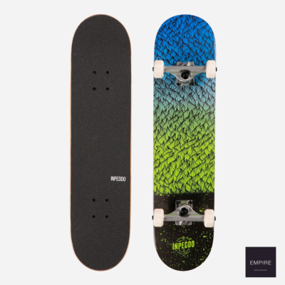 INPEDDO SKATEBOARDS FEATHER COMPLETE 7.75 - Green