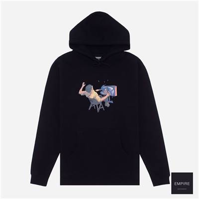 HOCKEY ULTRAVIOLENCE HOOD - Black