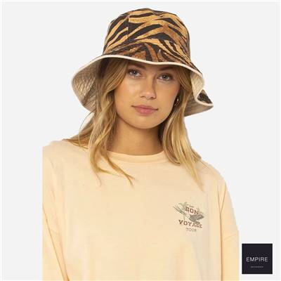 AMUSE SOCIETY BUCKET LIST WOVEN HAT - Natural