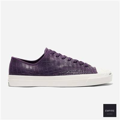 CONVERSE x POP TRADING COMPANY JACK PURCELL PRO LOW - Grand Purple Black Egret